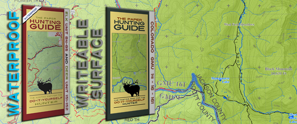 The Paper Hunting Guide - Topographic Hunting Unit Maps