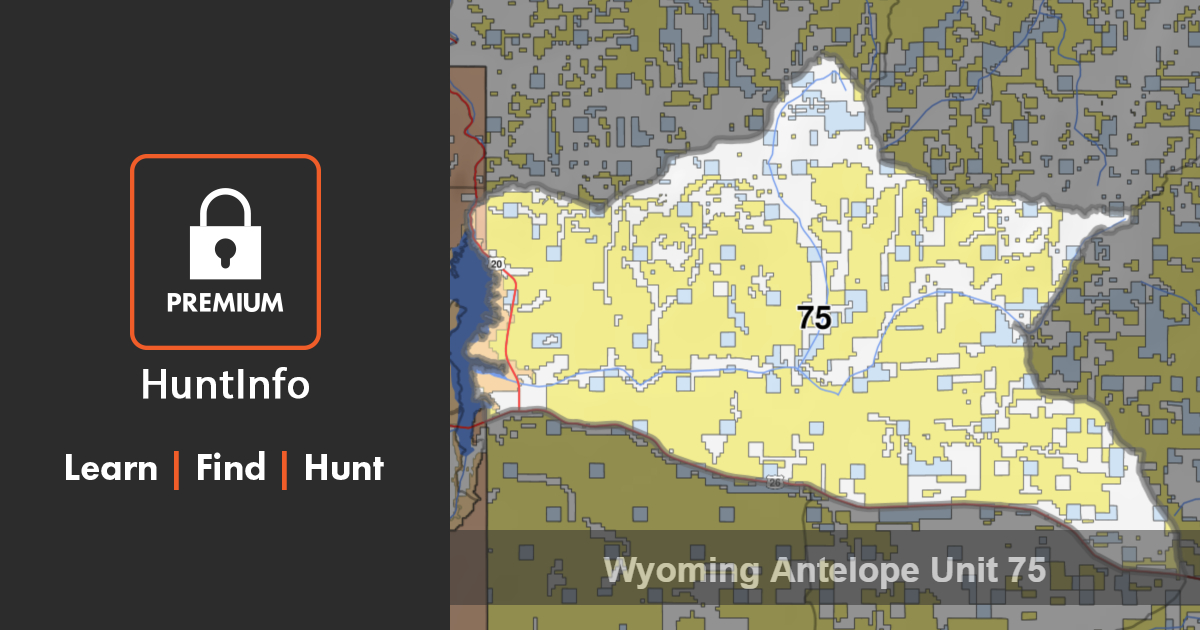 Wyoming Antelope Hunting Unit 75 | HuntInfo on wyoming landowner maps, wyoming mule deer unit map, round valley state park hunting zone map, kansas public hunting area map, wyoming coal mine jobs, nevada hunt unit map, wyoming blm gis data, wy antelope hunting area map, wyoming game and fish units, 94 wyoming unit map,
