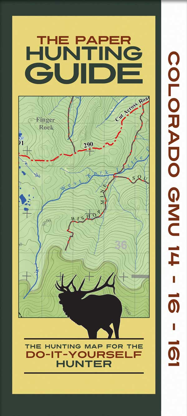 Colorado Topographic Hunting Unit Maps