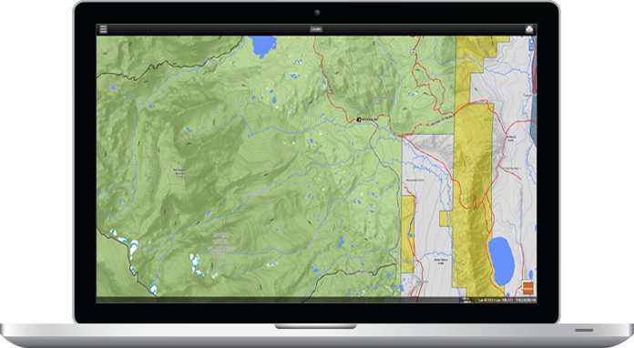 Paper GPS And Digital Topographic Hunting Maps For Colorado - Maps of colorado