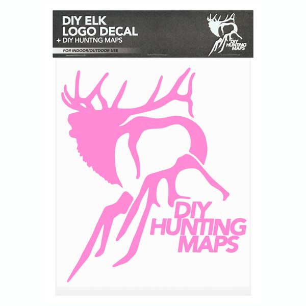 DIY Logo Decal - Pink