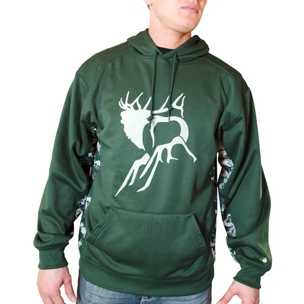 DIY Elk Logo Sweatshirt - Green