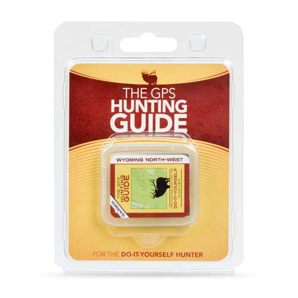 The GPS Hunting Guide - Wyoming NW for Garmin